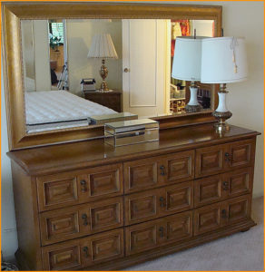 Dresser, furniture, estate sale, arcadia, vander molen estate sales