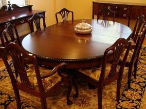 estate sale, furniture, dining set, pasadena