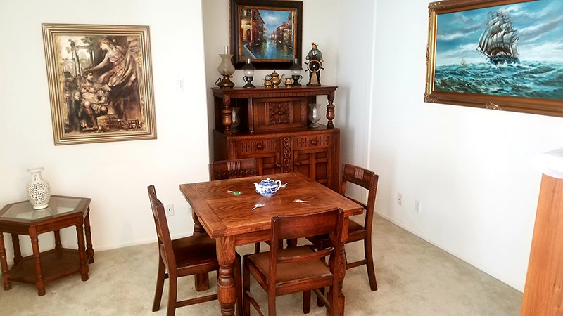 Dining Room Set, Estate Sale, Furniture, Upland